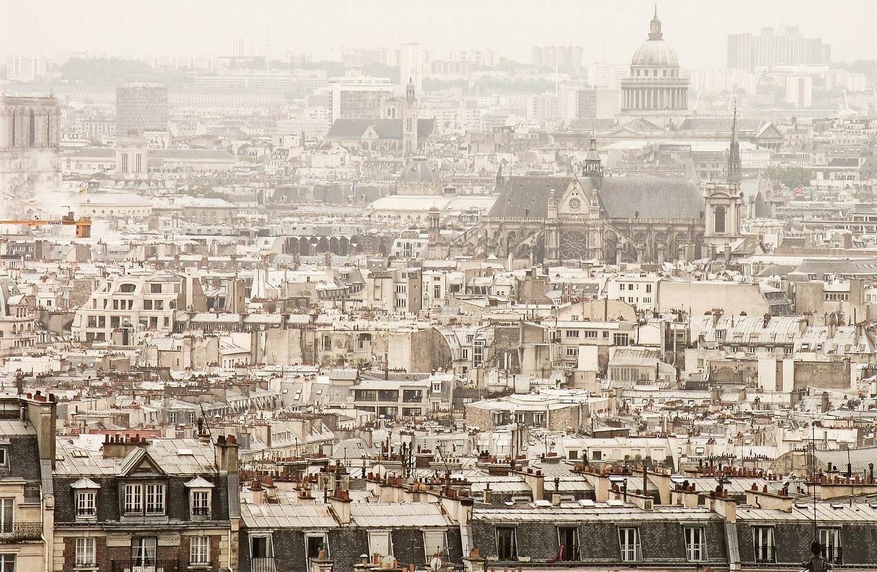 da dove ammirare i tetti di Parigi