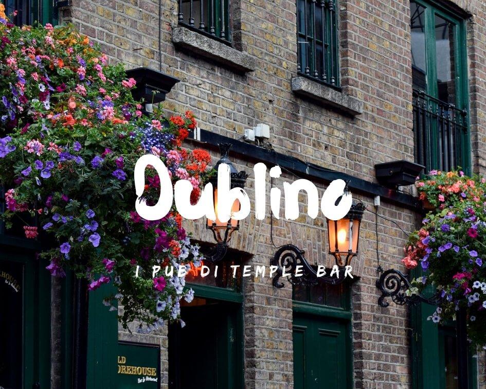 i migliori pub di Temple Bar