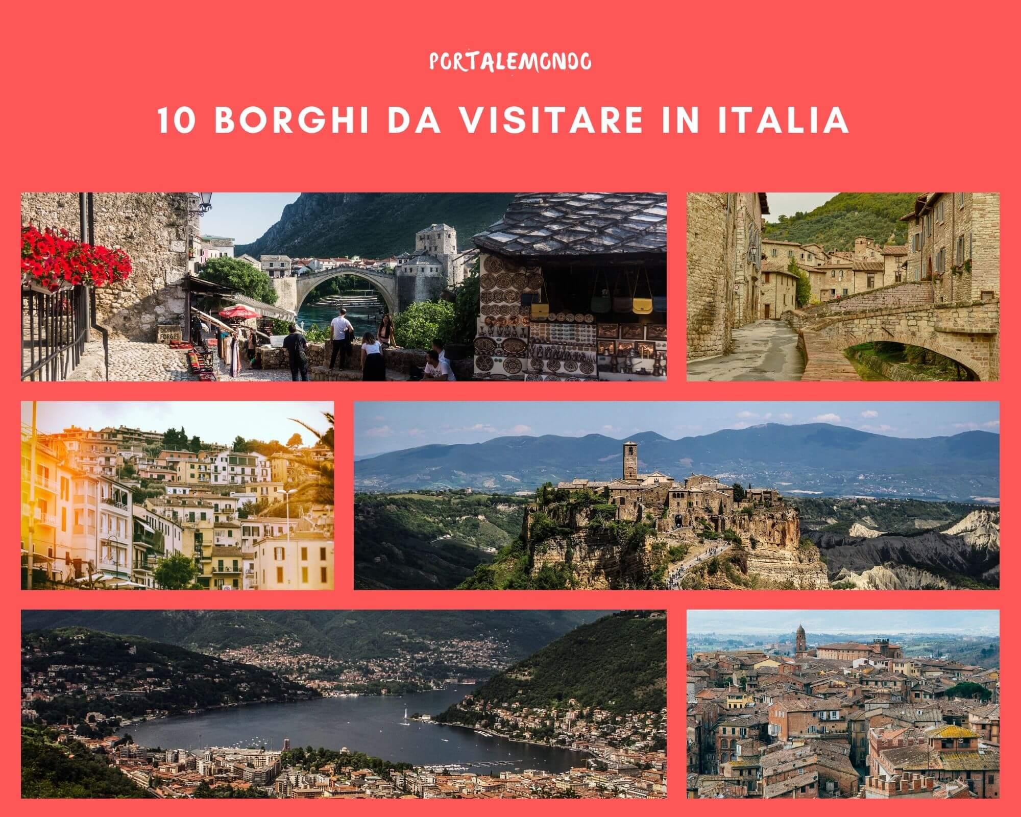 10 borghi da visitare in Italia in un weekend