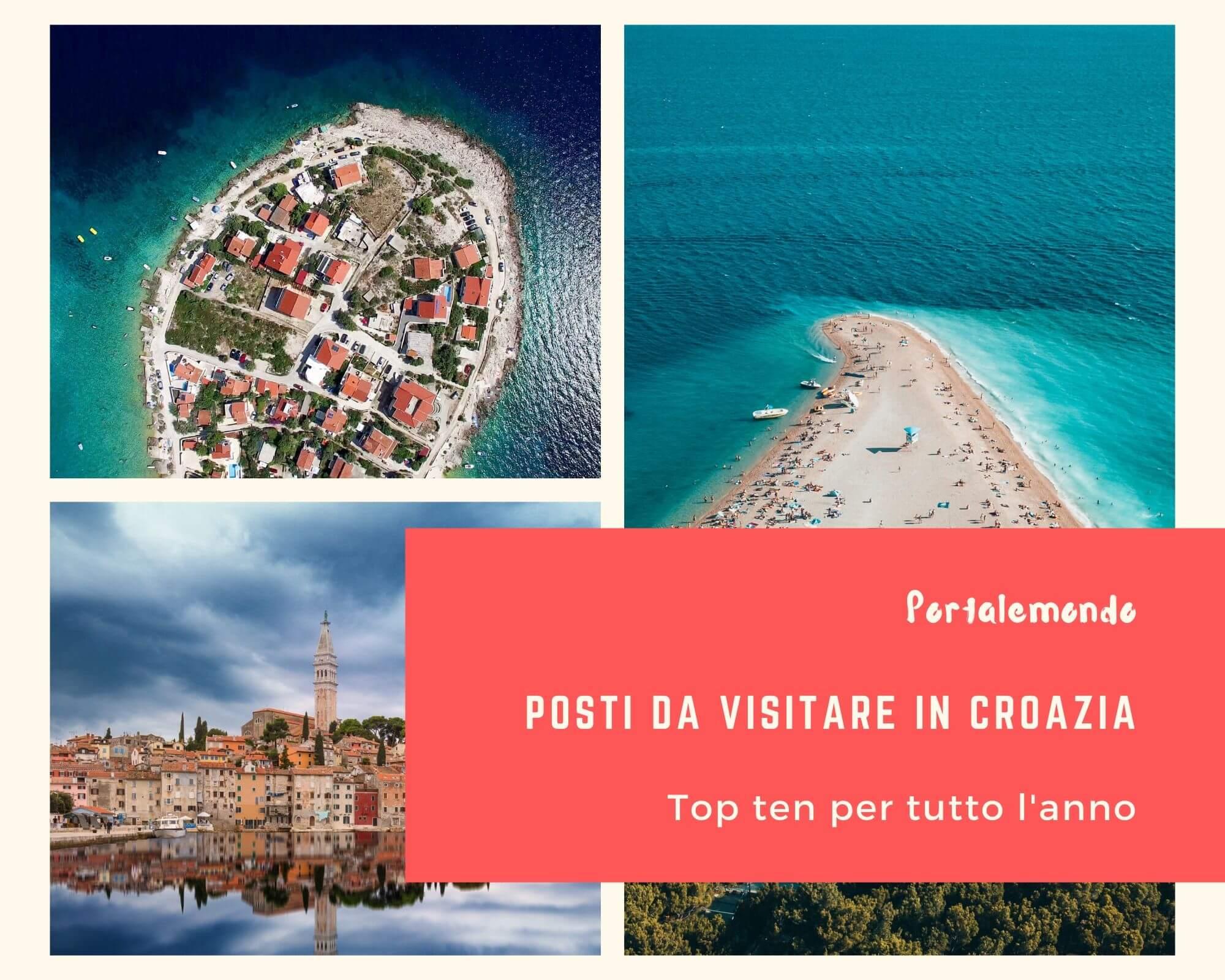 posti da visitare in Croazia