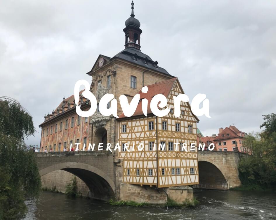 Itinerario in Baviera in treno